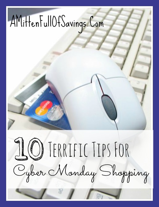 10 Terrific Tips For Cyber Monday Shopping A Mitten Full