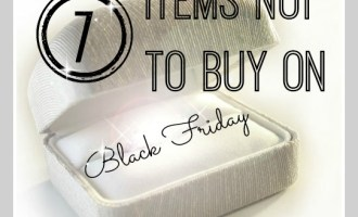 7 Items NOT to Buy on Black Friday
