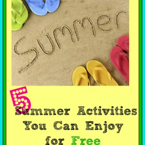 free summer activities, sumemr boredom, summer