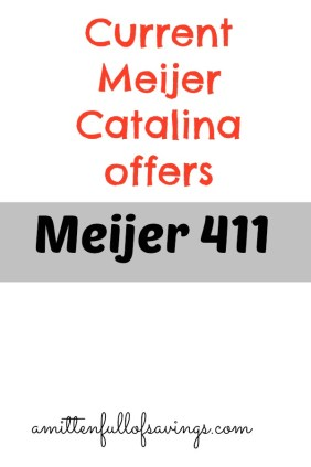 meijer deals, meijer catalina offers, meijer weekly ad, meijer mperks