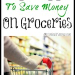 Top 5 {PLUS} Apps To Save Money On Groceries