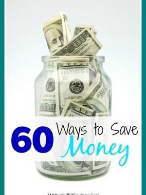60 ways to save money
