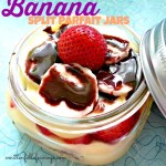 Banana Split Parfait Jars