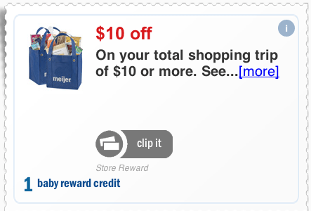 meijer baby rewards program