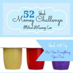 52 Money Save Ways: Week 38: Re-use Everything You Can