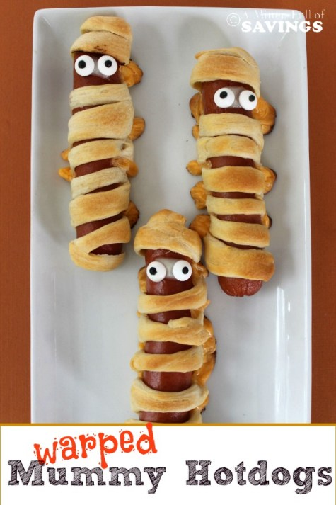 Halloween Recipe: Warped Mummy Hot Dogs