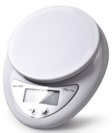 digital baking scale