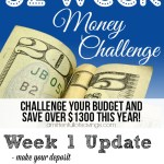 Week 1- 52 Week Money Challenge