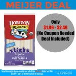 Meijer: Horizon Cheese for $1.99 and up