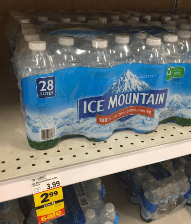 Ice Mountain Water Deals