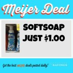Meijer: Softsoap Handsoap Just $1.00