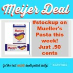 #stockup on Pasta this week! Just .50 cents