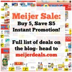 Meijer: Buy 5, Save $5 Instant Promo {Full List}