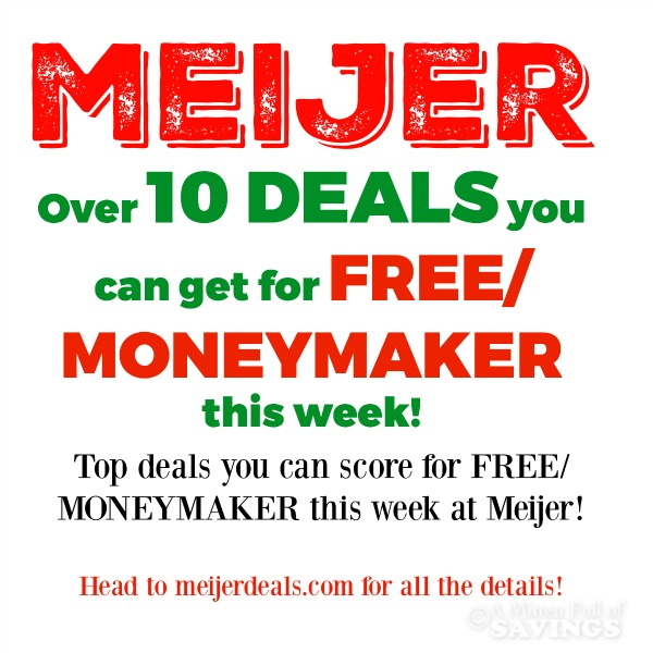 free deals at meijer