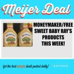 Meijer: MONEYMAKER/FREE Sweet Baby Ray's Products