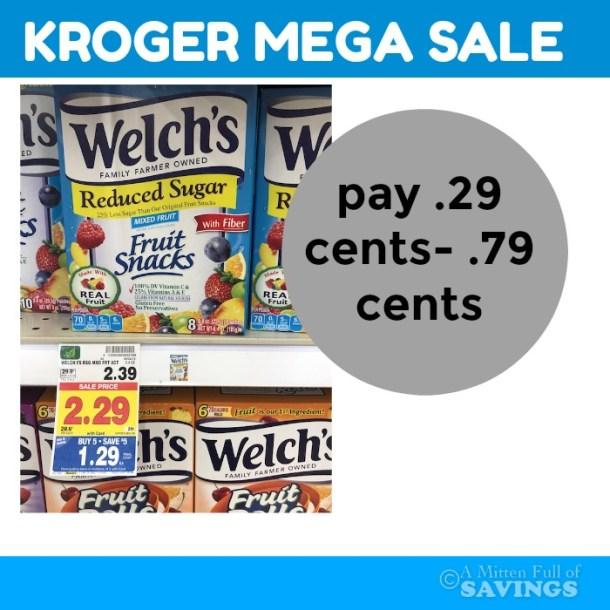 welch's fruit snacks deals