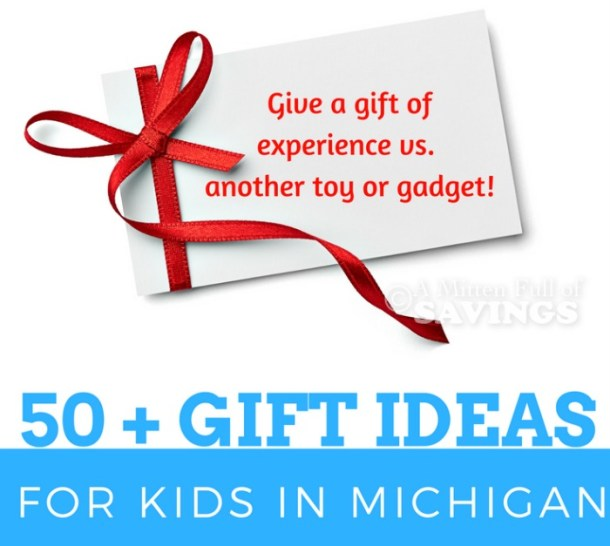 Top Experience Gifts In Michigan For Kids - A Mitten Full of Savings ...