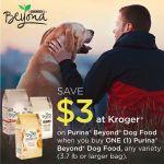 Save $3 on Purina® Beyond® Dog Food