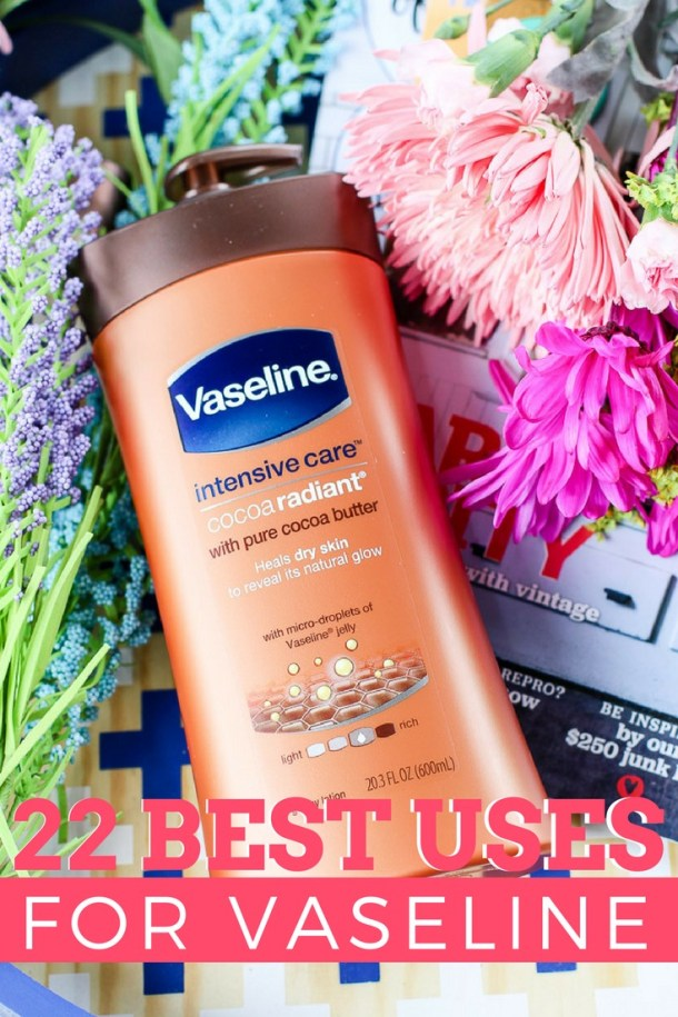 You can use vaseline in a variety of different ways. Here are the best vaseline hacks and uses for vaseline! 22 Best Uses For Vaseline