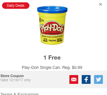 Meijer mPerk Daily Deals