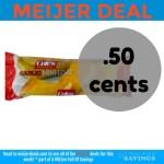 Cole's Garlic Bread deal at Meijer