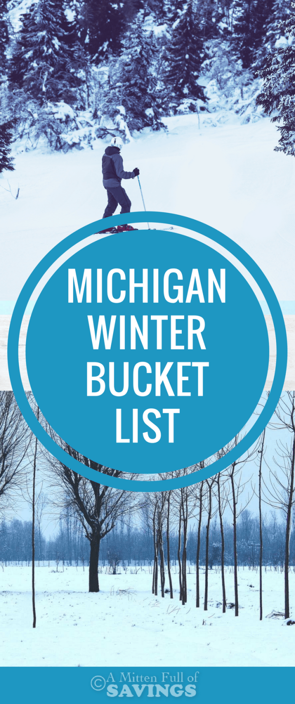 Don't let all the snow here in Michigan keep you inside this winter! There are so many fun things to do in Michigan during the winter months. I've started a Michigan Winter Bucket List full of ideas you and your family can try out this season. Plus, read about my experience driving a small car during a winter snowstorm.