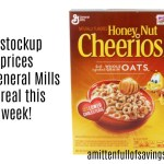 Meijer: General Mills Cereal #STOCKUP prices