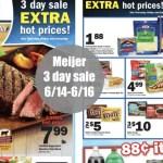 Meijer 3 Day Weekend Sale: 6/14-6/16