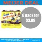 Meijer: Nesquik Superbreakfast Drinks 6 pack– $3.99
