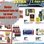 Meijer 2 Day Weekend Sale 7/20/18-7/21/18