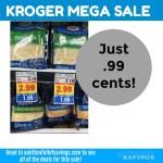 Kroger MEGA: Kraft Shredded Cheese .99 cents