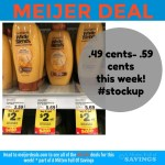 Meijer: Garnier Hair Products .49 cents- .59 cents this week! #stockup