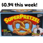 Meijer Deal: Super Pretzel BOGO Deal- $0.94 this week