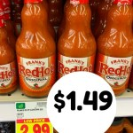 Kroger MEGA: Red Hot Sauce $1.49