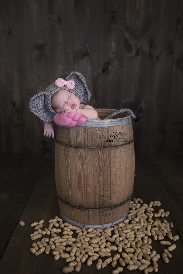 Baby Elephant hat newborn elephant beanie crochet elephant | Etsy | 960x640