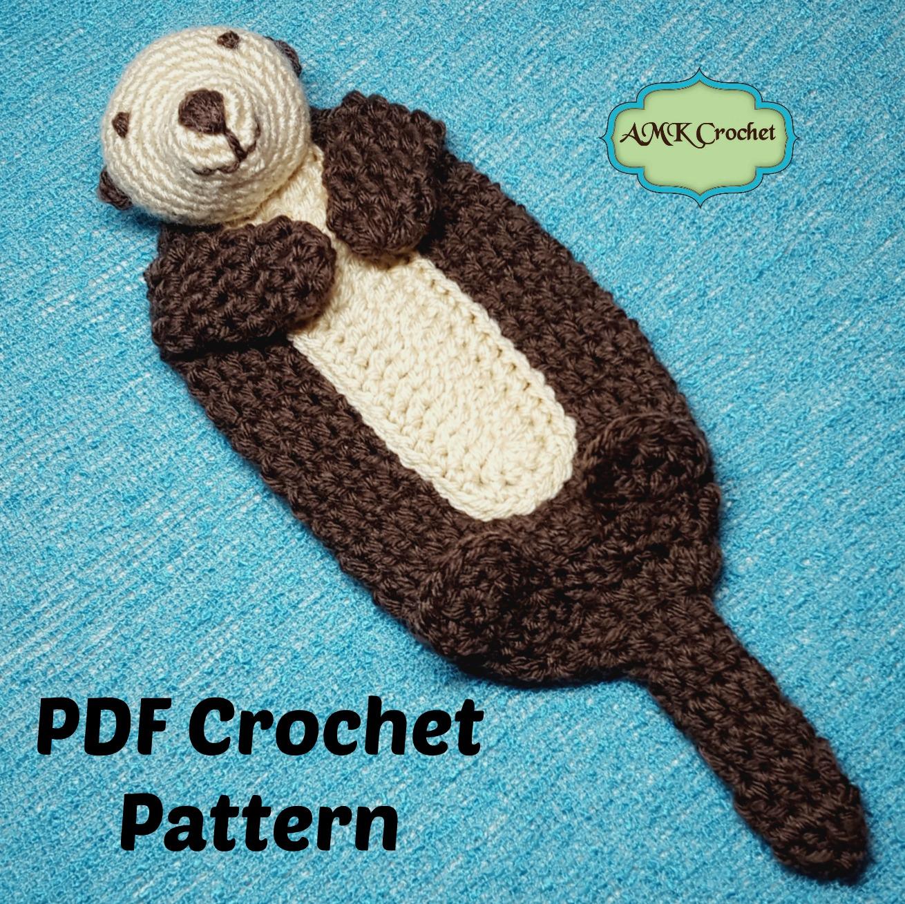 Oscar the Otter Amigurumi Pattern   Etsy   1309x1310