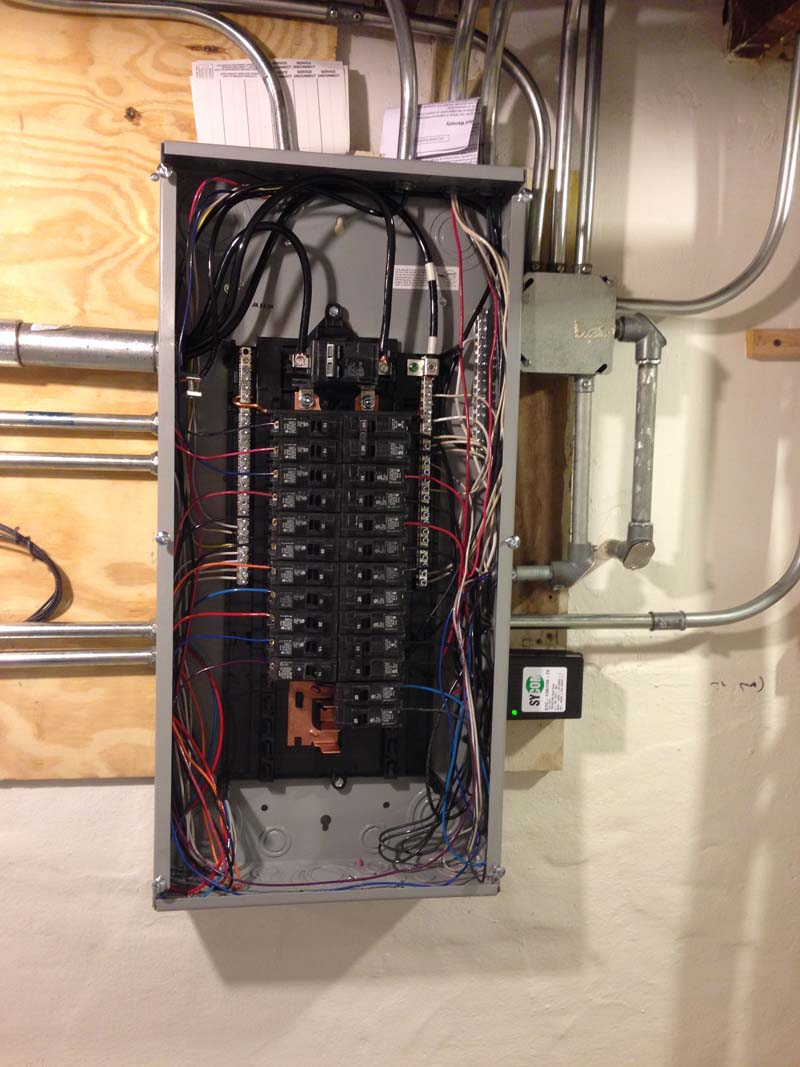 hight resolution of  siemens 100 amp panel with sycom surge protection panel change after with surge protection