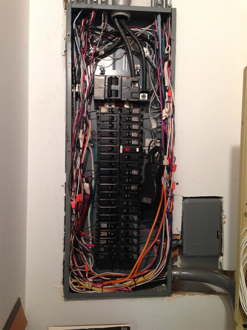 medium resolution of palatine service panel upgrades electrical repair circuit breakerremoved old challenger panel