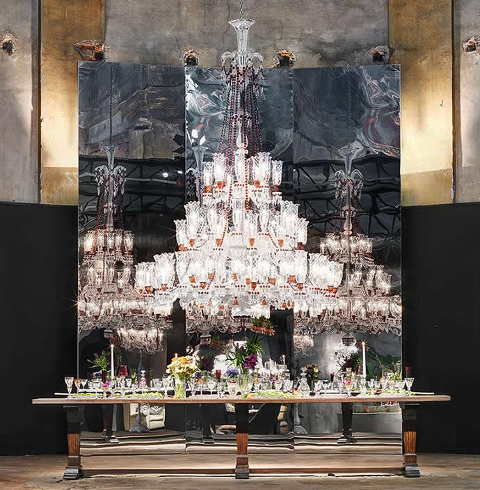 Philippe Starck Designed 360k Chandelier American Luxury