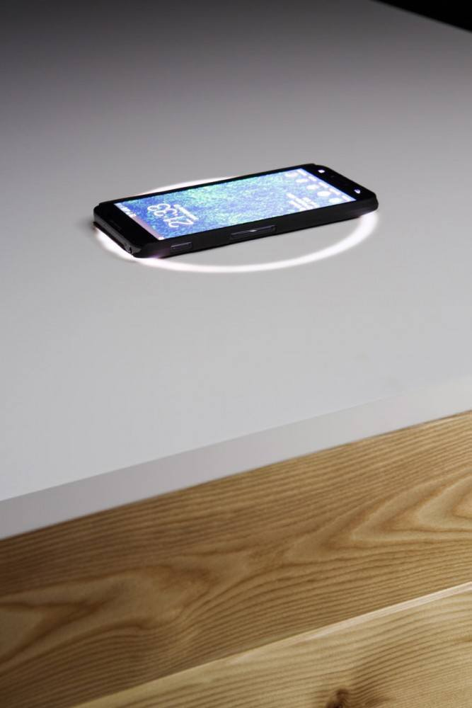 Designer Desk with BuiltIn Wireless Charging  American