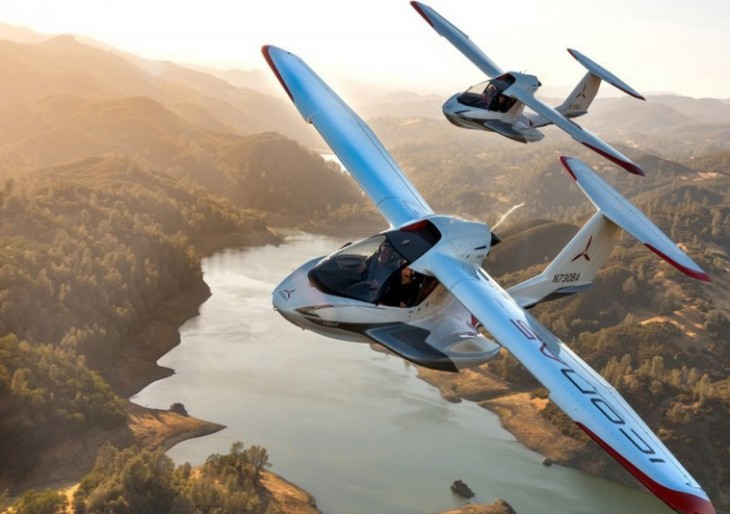 The 194k ICON A5 Aircraft Is Sold Out Through 2019 American Luxury