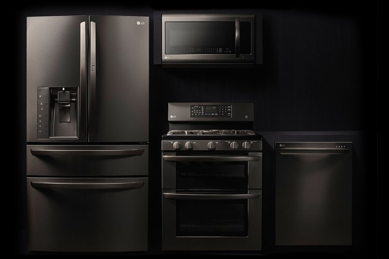 buy white kitchen cabinets orange the future of stainless steel appliances looks dark ...