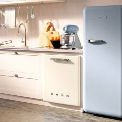 Kitchen Appliance Colors Remodel Designs Smeg Introduces Larger Models Of Its Colorful Retro-style ...