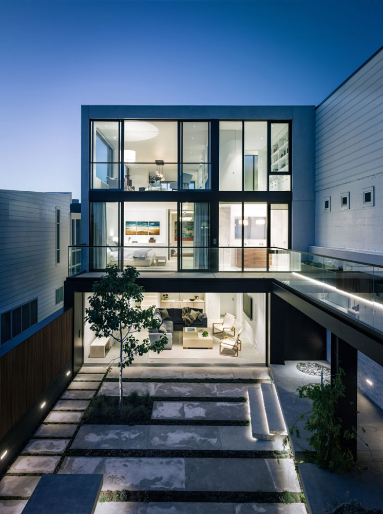 Butterfly House in San Francisco by John Maniscalco