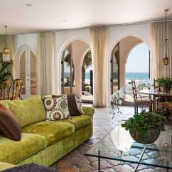 Tiled Living Room Grey Sectional Sofa Ideas Former Malibu Home Of Carroll O'connor, Tv's Archie Bunker ...
