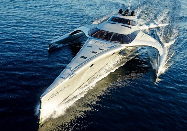Billionaire Anto Mardens Trimaran Superyacht Adastra Is