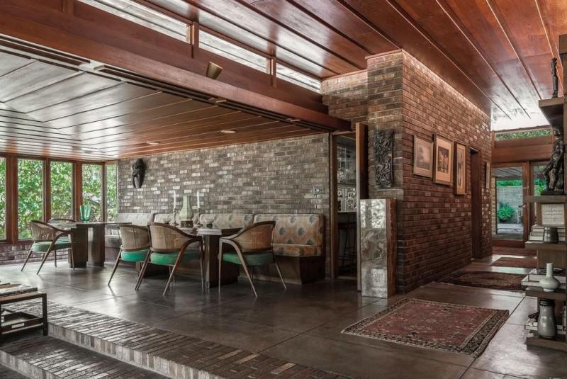 Frank Lloyd Wrights SondernAdler House in Kansas City