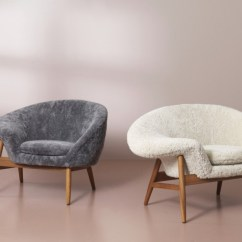 Fried Egg Chair Small Folding Chairs Stools Warm Nordic Brings Back Hans Olsen S In Sheepskin If You Enjoyed This Article Join Our 140 000 Affluent Newsletter Subscribers