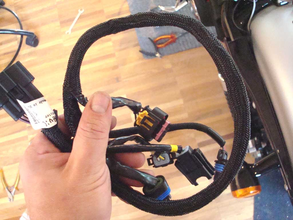 hight resolution of under the seat there is a big connector that connects the efi module with the injection body wire harness this allows you to unplug and remove the entire
