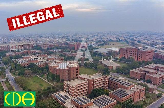 Illegal Housing Societies